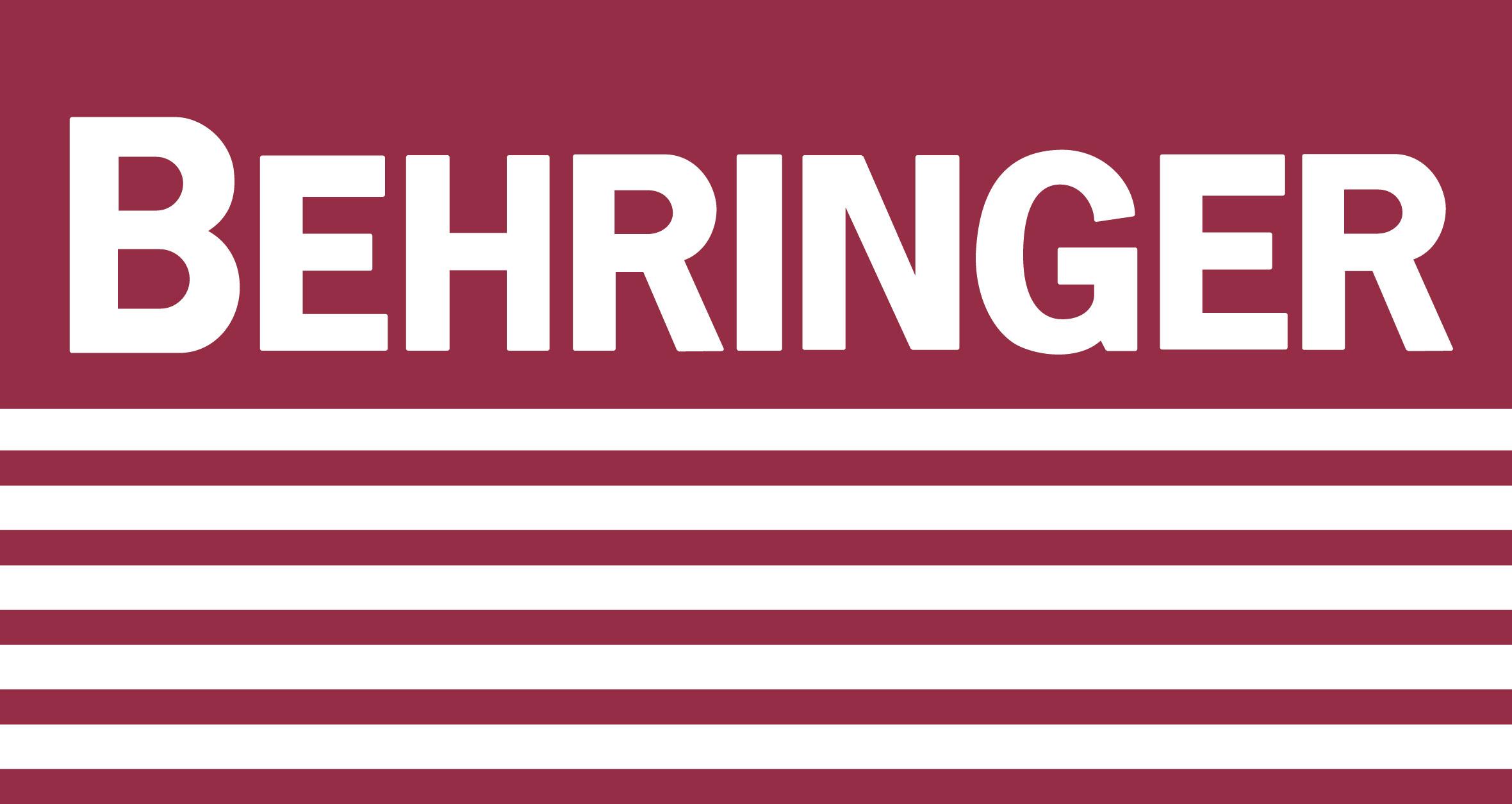 Logo Behringer Prospektfarbe