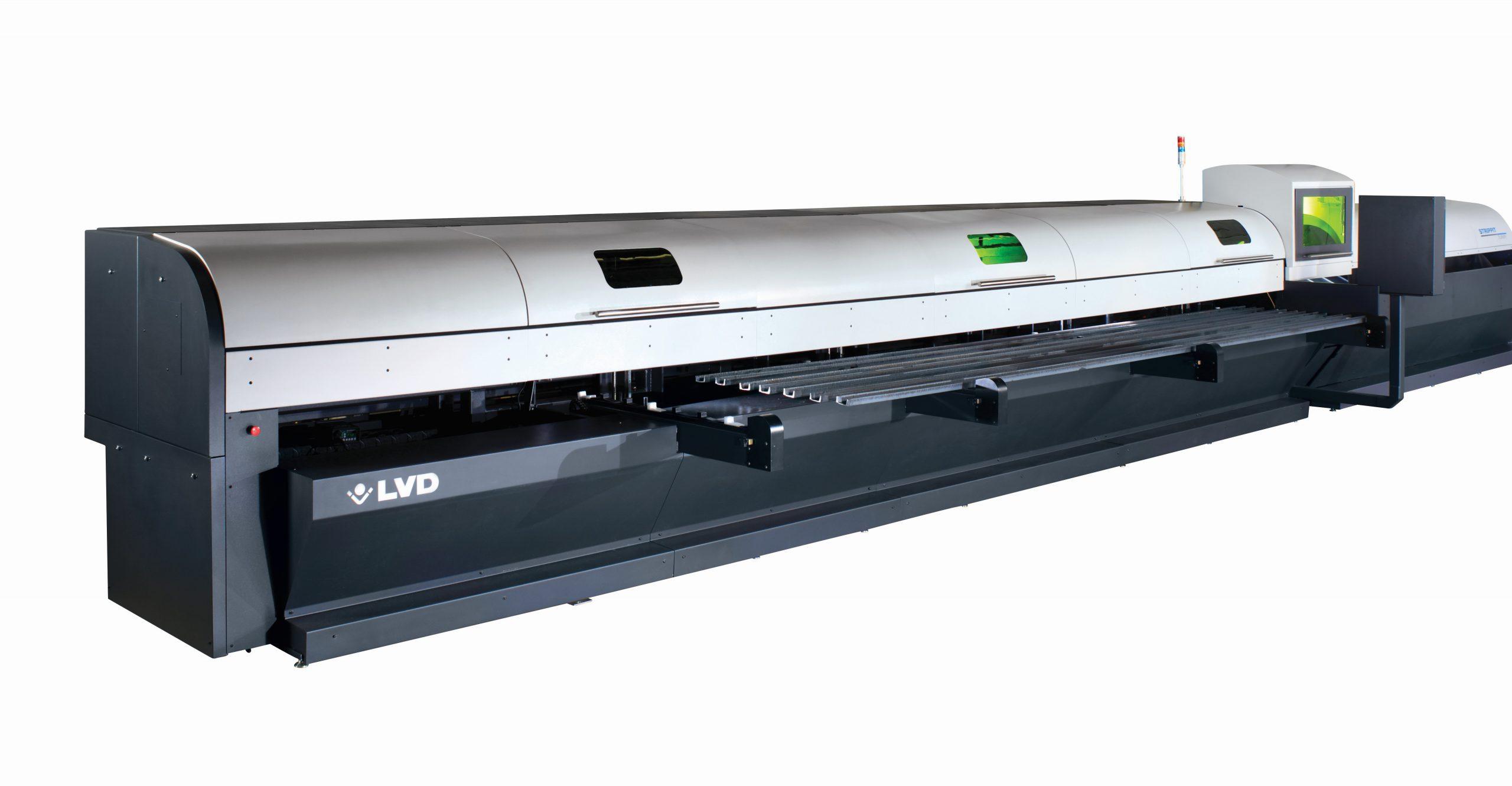 Vamzdžių pjovimo lazeris LVD TL 2665 - Tube laser LVD
