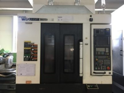 vertical machining center HYUNDAI iCUT