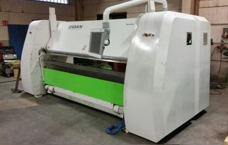 Cidan folding machine megapro