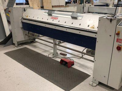Folding machine schroder makv